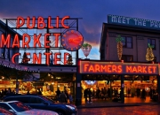 Pike Place Market в Сиэтле