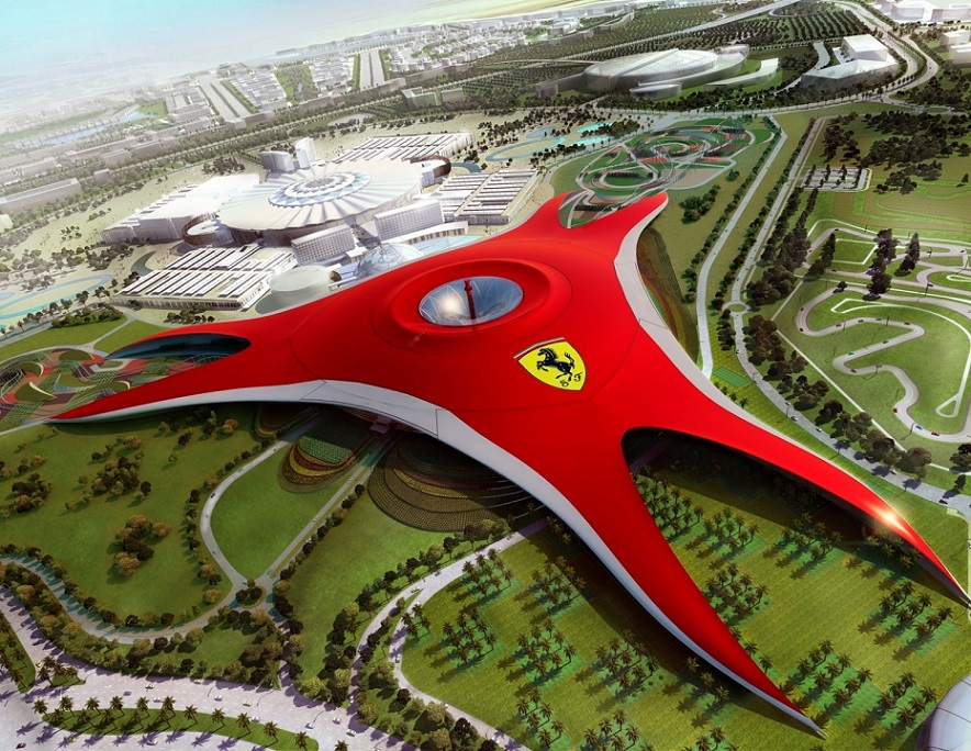 Ferrari World. ОАЭ