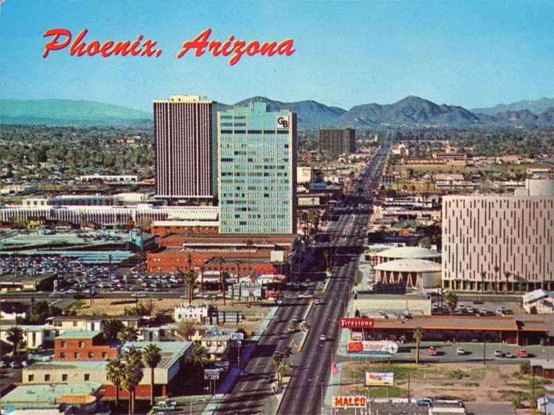 phoenix_arizona_central_ave_1960s