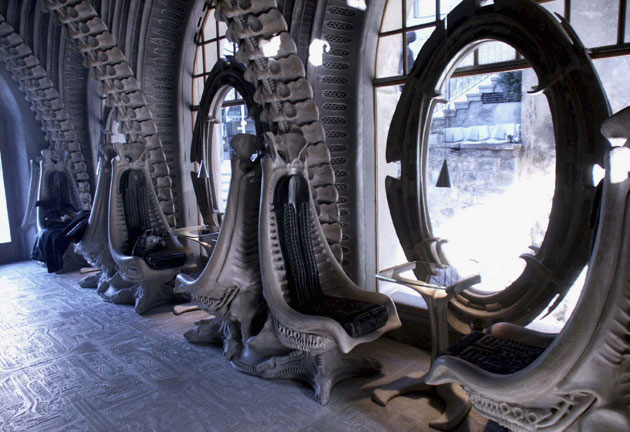 H.R. Giger Alien Bar