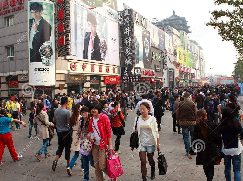 wangfujing-street-beijing-china-oct-people-crowd-national-day-holiday-oct-s-celebrates-th-anniversary-34190571